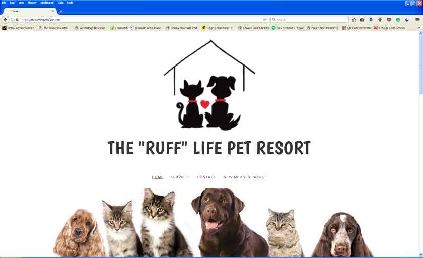 """The """"Ruff"""" Life Pet Resort - Here is a local pet resort for both cats and dogs. #TheRuffLifePetResort"""