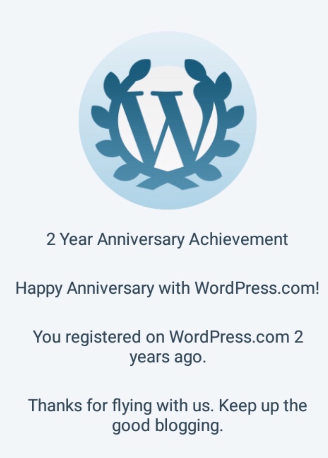 2 Years Blogging At 2 Cats and a Blog. Thank you to all of our followers and readers of this cat blog.